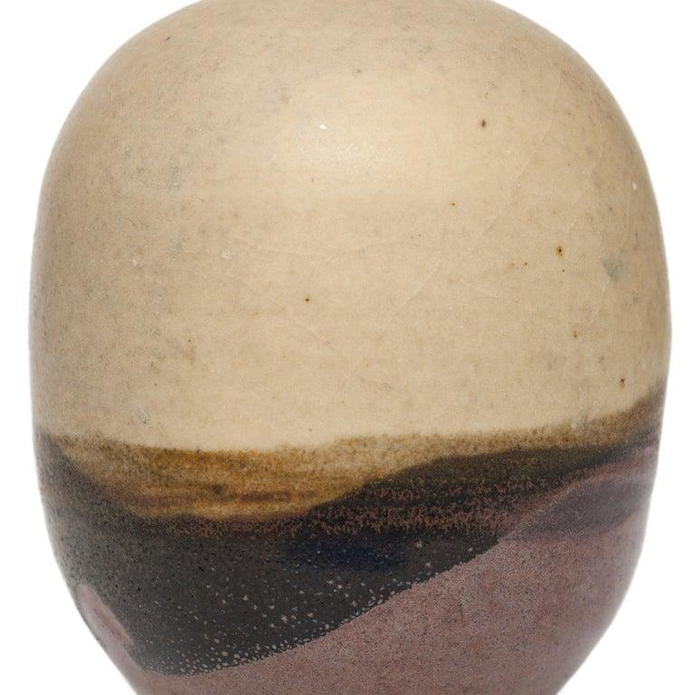 Small Moon Pot - Contemporary Sculpture by Toshiko Takaezu