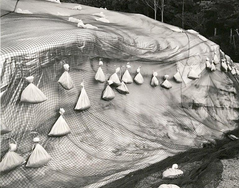 #189 Yunoyani Village, Nigata Prefecture, Contemporary Japanese Photography - Gray Abstract Photograph by Toshio Shibata