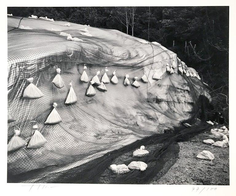 Toshio Shibata Abstract Photograph - #189 Yunoyani Village, Nigata Prefecture, Contemporary Japanese Photography