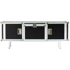 """Total Flightcase"" Aluminum Frame and Plywood Large Cabinet by Moroso for Diesel"