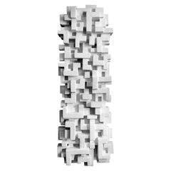 """TOTEM 4"" Wall Sculpture by Dan Schneiger"