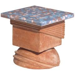 TOTEM Seat Handmade in Terracotta