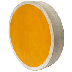 Totem Sun Marigold Portal Stoneware Tile by Michele Quan