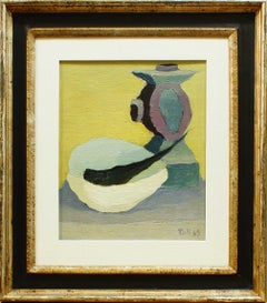 Natura Morta (Still Life) - 1940s - Toti Scialoja - Oil Painting - Contemporary