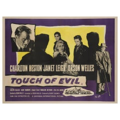 """Touch of Evil"" UK Film Poster, 1958"