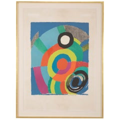 """Tourbillion. 1979"" Lithograph in Colors by Sonia Delaunay"