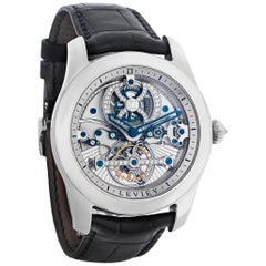 Tourbillon Platinum Wristwatch