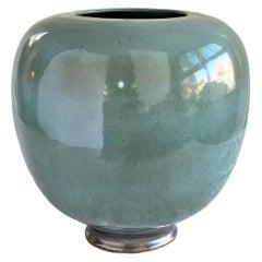Tourmaline #15 Ceramic Vessel by Thom Lussier
