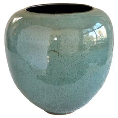 Tourmaline #3 Ceramic Vessel by Thom Lussier