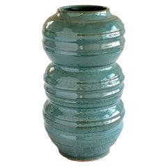 Tourmaline #6 Ceramic Vessel by Thom Lussier