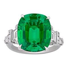 Tourmaline Ring by Raymond Yard, 9.88 Carats