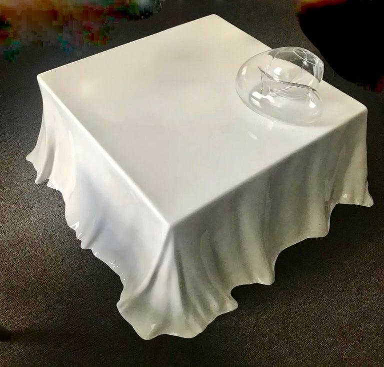 European Tovaglia Coffee Table Bazzani Studio Tetrarch Stendig 1968 Postmodern Italian  For Sale