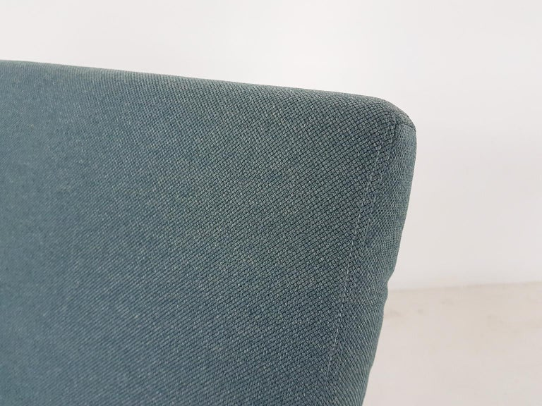 Tove and Edvard Kindt-Larsen Lounge Chair in New Green Fabric, Norway, 1960s 2