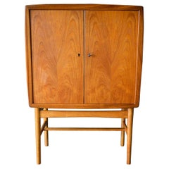 Tove and Edvard Kindt-Larsen Teak and Oak Cabinet, circa 1955