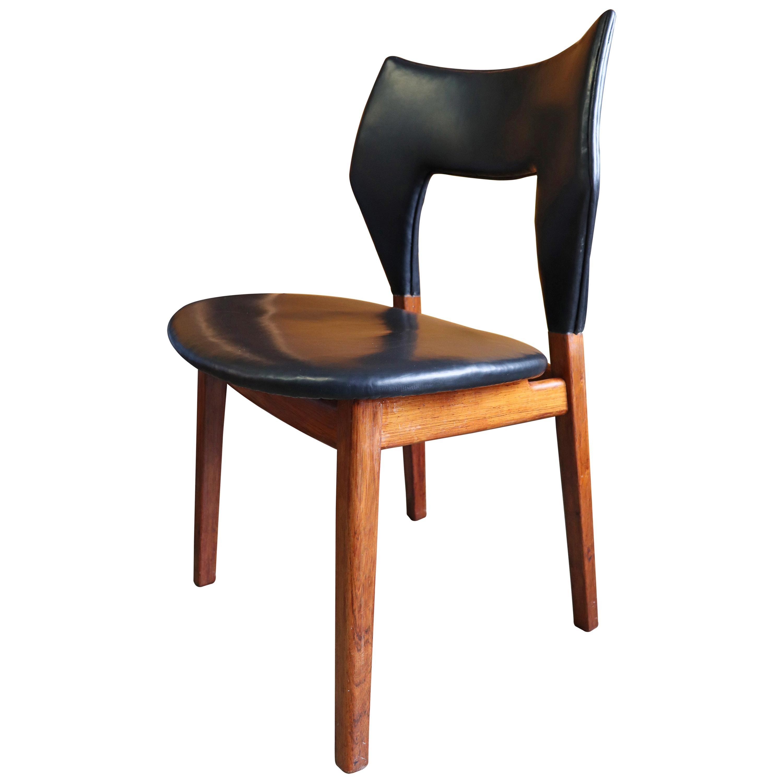 Tove & Edvard Kindt-Larsen Rosewood Chair for Thorald Madsens