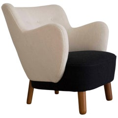 Tove & Edvard Kindt Larsen Easy Chair, 1938 for Gustav Bertelsen