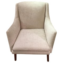 Tove & Edvard Kindt-Larsen for Gustav Bertelsen Newly Upholstered Club Chair