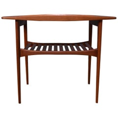 Tove & Edvard Kindt-Larsen Model 510 Solid Teak Lamp Table for France & Son