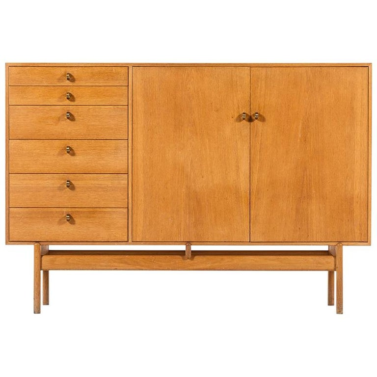 Tove & Edvard Kindt-Larsen Sideboard by Seffle Möbelfabrik in Sweden For Sale