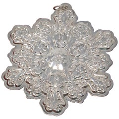 Towle Sterling Old Master Snowflake, 1991