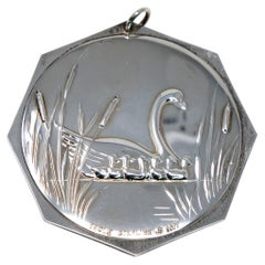 """Towle Sterling Ornament """"7 Swans a Swimming"""" No Box, 1977"""