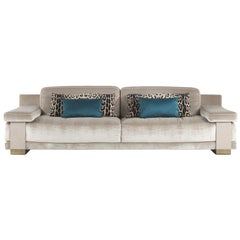 Townee 3-Seat Sofa in Fabric by Roberto Cavalli