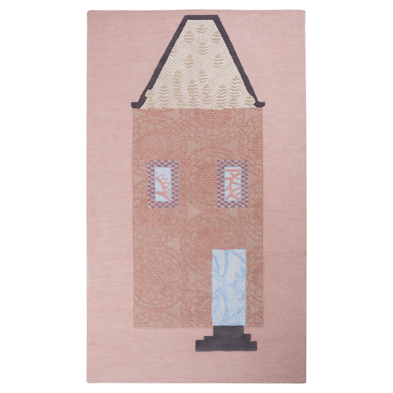 Townhouse, Handtufted, Wool and Viscose, Kiki van Eijk