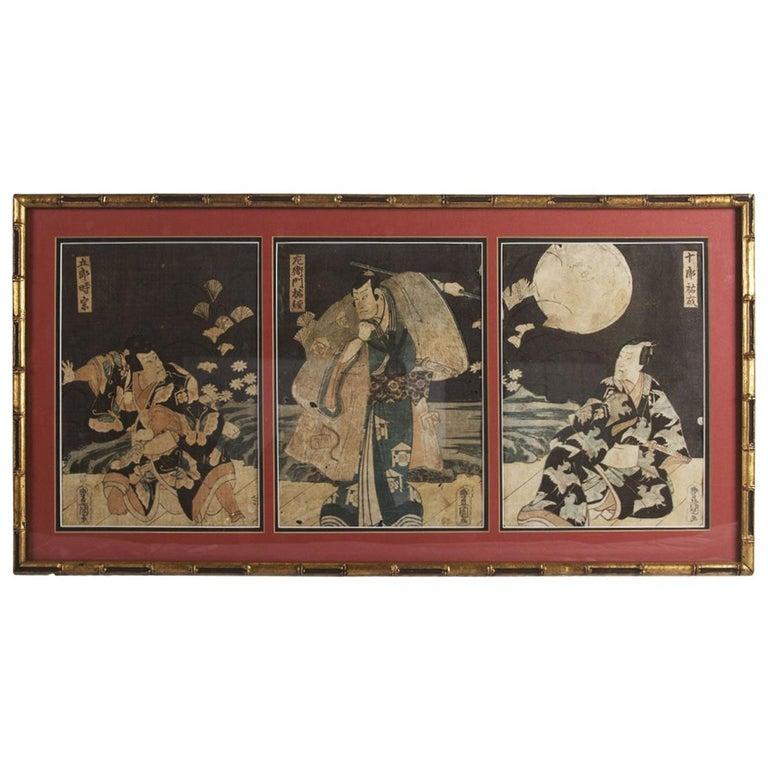 Toyokuni Ukiyo-e Kabuki Actor Print