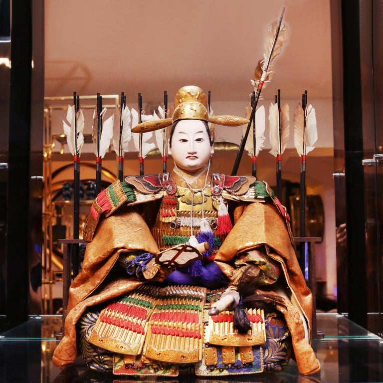 Japanese Doll Toyomi Hideyoshi which was a samuraï