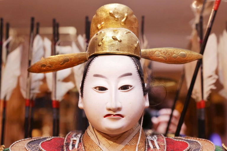 Toyomi Hideyoshi Japanese Doll Meiji Era For Sale 2