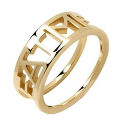 TPL 9ct Gold Eat Me Ring