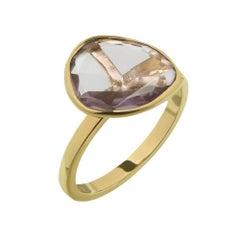 TPL Gold Amethyst Stacking Ring