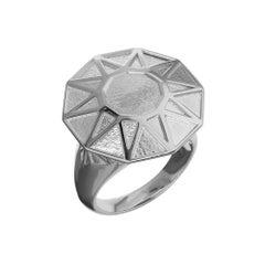 TPL Silver Gemstone Ring