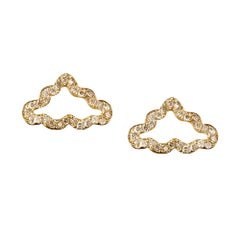 TPL Vermeil Diamond Cloud Earrings