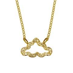 TPL Vermeil Diamond Cloud Necklace