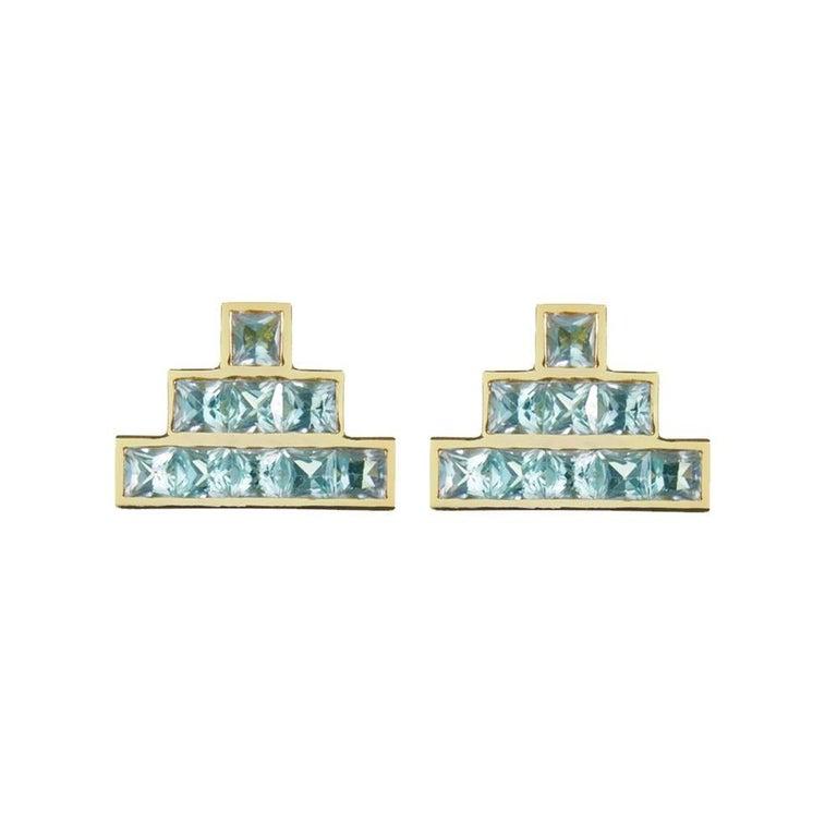 TPL Vermeil Topaz Earrings