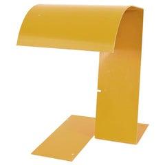Trabucco Vecchi Volpi Yellow Table Lamp Blitz for Stilnovo 1970