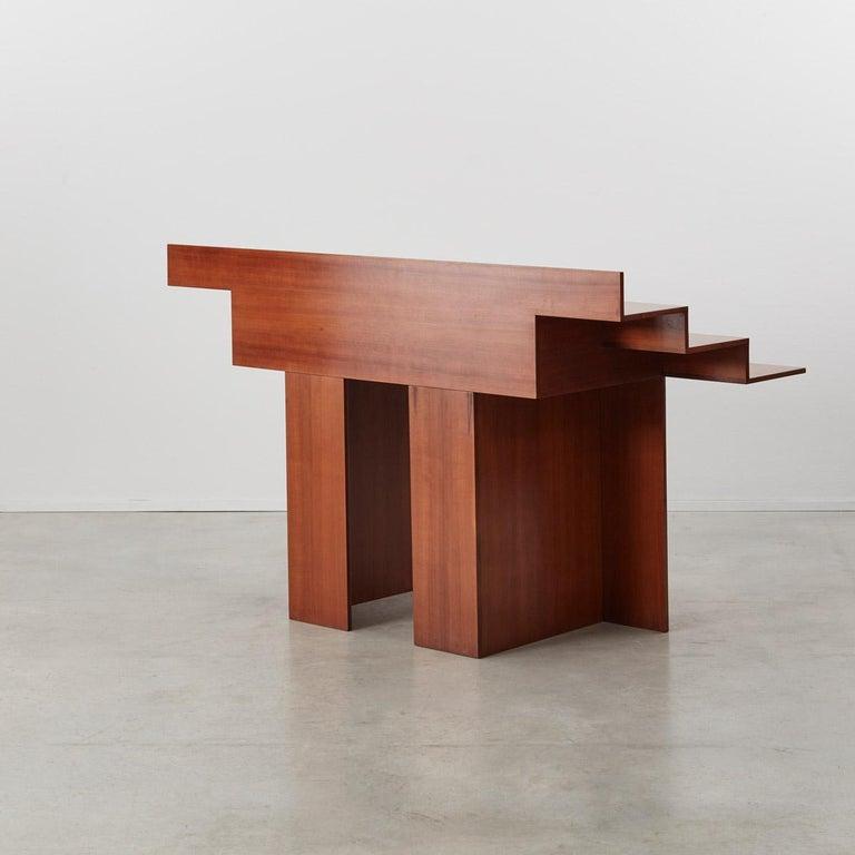 Post-Modern Trabucco and Vecchi 'SC73' Desk for Poggi, Italy, 1983 For Sale