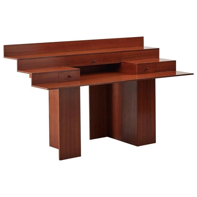 Trabucco and Vecchi 'SC73' Desk for Poggi, Italy, 1983 For Sale
