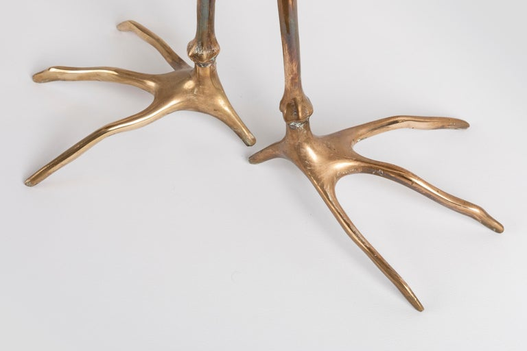 Late 20th Century Traccia Table Designed by Meret Oppenheim For Sale