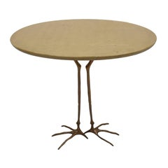 """""""Traccia"""" Table Designed by Meret Oppenheim in 1936 and Edited by Gavina"""