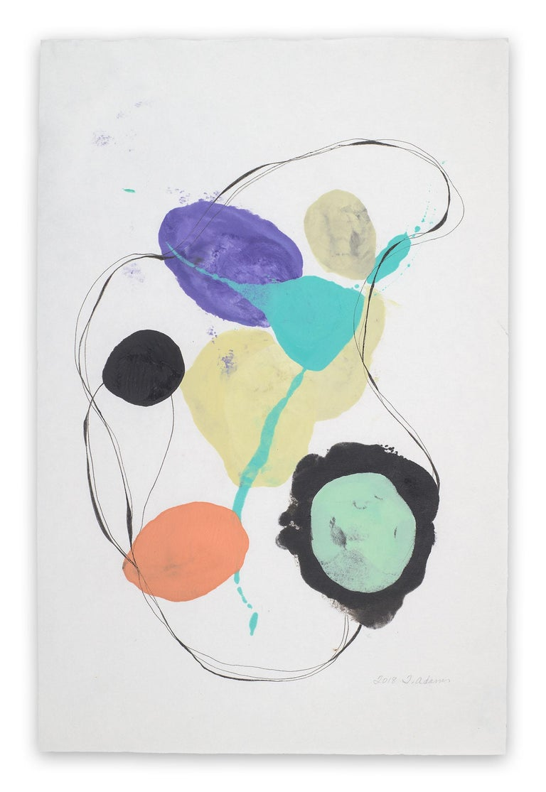 Tracey Adams Abstract Drawing - 0118.14 (Abstract painting)