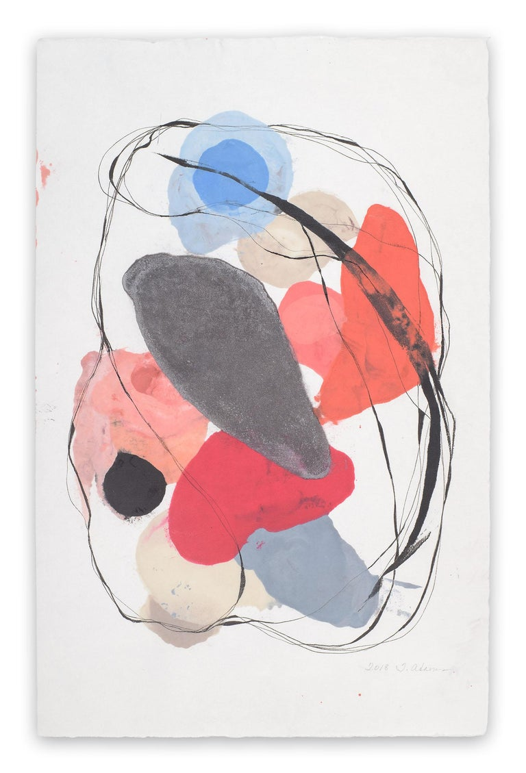 Tracey Adams Abstract Drawing - 0118.15
