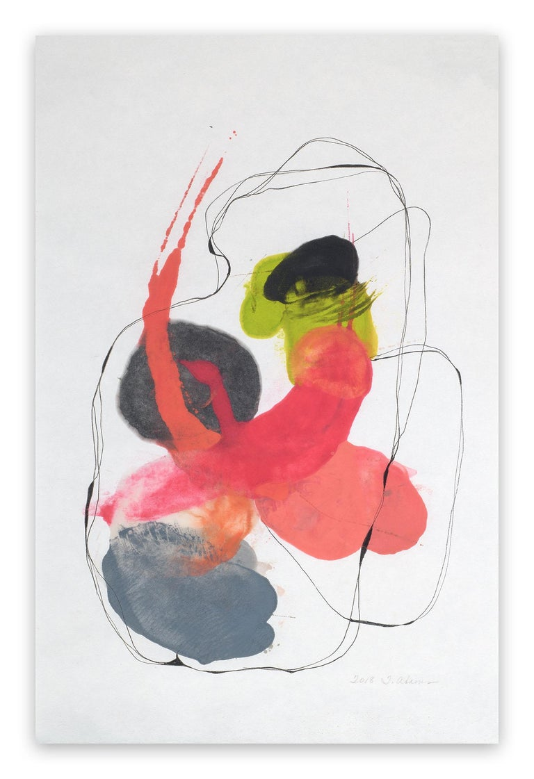 Tracey Adams Abstract Drawing - 0118.5 (Abstract painting)