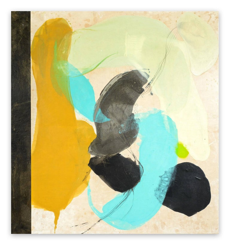 Tracey Adams Abstract Painting - The principle of not knowing