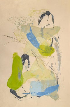 """Tracey Adams """"Sattva 6"""" -- Abstract Painting on Paper"""
