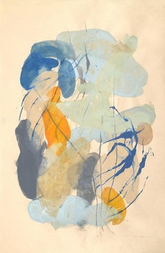 """Tracey Adams """"Sattva 7"""" -- Abstract Painting on Paper"""