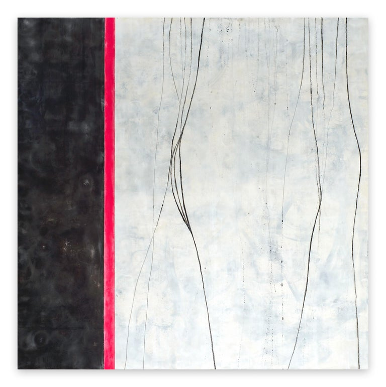 Tracey Adams Abstract Painting - Why I wake up early (Abstract painting)
