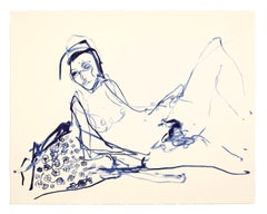 I Loved My Innocence -- Lithograph, Human Figure, Nude by Tracey Emin