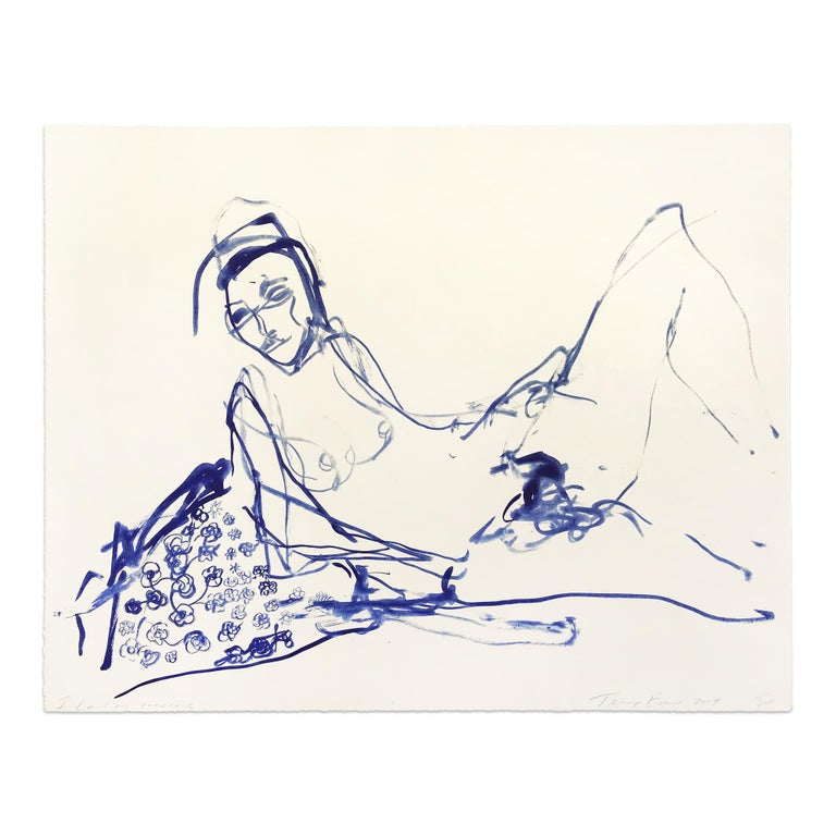 Tracey Emin Nude Print - I Loved My Innocence, Young British Artist (YBA), Contemporary Art, 21st Century